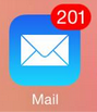 Too much mail